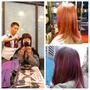 台北東區 忠孝敦化站。G.A.SOUL。秋冬新髮色。紫蘿蘭配蜜糖色。個性搶眼超好看!