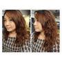(HAIR燙髮)(台北東區) Re Born hair salon~柔美中長髮溫塑燙~用唯美浪漫捲髮來迎接新年