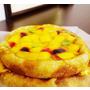 青山工房+芒果總匯蛋糕+夏天不能沒有它啊!透沁涼的甜點~ 海綿香草蛋糕、芒果卡士達醬、鮮奶、蕎麥粉、麵粉、岩鹽、芒果、藍莓、紅醋栗、開心果、冰糖、水