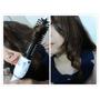 台灣Fodia富麗雅二代雪花白360度旋轉電棒捲髮梳~DIY美髮小微調渡過瀏海跟捲度萎靡尷尬期