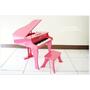 【育兒好物】德國Hape音樂大鋼琴♥超夢幻的粉紅鋼琴玩具,小女孩和媽咪都愛不釋手