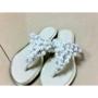 今夏超值又貼心珍珠水鑽拖鞋戰利品