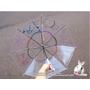 【013】透明雨傘自己畫 - Alice主題插畫(愛麗絲夢遊仙境)哈燒文章