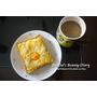 ▌食譜 ▌超簡單懶人食譜!自製鮪魚起司加蛋厚片♥好吃營養滿分的早餐自己做!