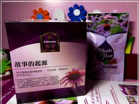 ♡♡試飲~~Meide Fleur 美德芙若紫錐花系列~紫錐草本軟喉糖+紫錐博士保健茶♡♡