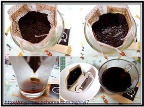 ♡♡試飲~~繽豆濾掛咖啡(8分鐘輕焙及12分鐘中焙)冷熱皆宜:可提神又可減肥♡♡