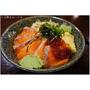 『台北市。大安區』木子林日式料理║日式平價料理。厚切の鮭魚親子丼,深海的美味啵滋啵滋在嘴裡跳動,CP值破表!