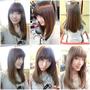 [剪髮 北車 蓓兒髮藝] ~打造甜姐兒髮型~日韓都流行的直長髮劉海