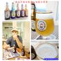 德國福倫斯堡啤酒Flensburger。泡沫細緻柔順爽口的金黃啤酒以及清新香甜的檸檬啤酒我最愛。具有收藏價值及環保概念的陶瓷瓶蓋