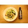 [食譜]不得不吃宵夜的時候可以這樣吃--有機冷壓亞麻籽油拌蔬果沙拉