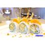 【食尚玩家推薦】izumi by sumi湶 加州壽司捲。吃得到飛魚卵的軟殼蟹捲超美味。台北信義區美食推薦
