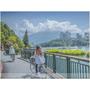 ▋親子背包小旅行。九族文化村、日月潭纜車、向山自行車道、遊湖、環湖巴士 ▋