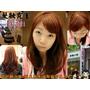✄[西門町染髮]髮妝霓室 Cutti。設計師小佩x秋天氣息波斯橘巧克力色