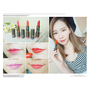 [Make up] 不管是咬唇妝還是霧面唇都超美!! Botanic Farm韓國潤唇膏三色分享♥