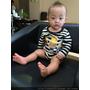【寶寶快樂剪髮】達樂哥,新髮型初登場!剪頭毛表現從容,不哭不鬧的好孩子