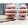 板橋美甲 ■ 藕色&米白&水鑽 浪漫氣質溫柔造型光撩 推薦新埔Beauty S 整體造型/美甲 (文末有優惠) ❤