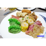 Buffet南霸天。漢來海港自助餐廳(台北SOGO敦化店)。吃到飽buffet。超值下午餐。現炒義大利麵/三星蔥捲餅/現燙牛肉湯。