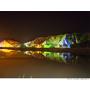 【高雄 Kaohsiung】田寮月世界 登上天空步道漫步月球 七彩夢幻夜景 山頂土雞城