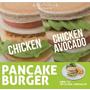 九州鬆餅特製雞肉豆腐堡 創意鬆餅搭漢堡熱