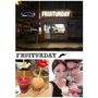 |旅遊。曼谷| SIAM SQUARE  FRUITURDAY。水果冰沙 / 超好吃的芒果糯米甜品