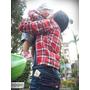 """【育兒.親子穿搭】親子裝為媽媽展現""""存在感""""的小小心機。百事特童裝 Santa Barbara POLO親子格紋襯衫系列"""