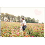 【高雄花海】2015花田喜事‧花漾橋頭♥好美的彩虹花田,怎麼拍都像拍婚紗一樣夢幻