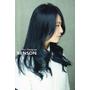 2016流行染髮~{新黑色}高質感個性帶甜美的藍黑色~台北染髮西門町剪髮BENSON尚洋髮型