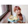【羽諾食記】POND BURGER CAFE❤咖啡館裡的秘製漢堡❤捷運世貿/台北101站早午餐