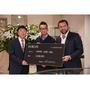 DAMIANI與中田英壽慶祝合作的「Metropolitan Dream by H. Nakata」系列捐出第一筆款項給「Home for All」計劃