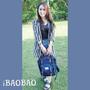 【穿搭】♠愛包包iBAOBAO♠時尚.流行.輕量.防潑水馬卡龍後背包♫♪♫♪♪