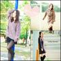 【穿搭】Tong 韓國服飾*襯衫洋裝/寬鬆素色洋裝/針織毛衣♥冬天必備的三套基本款,和韓妞一起這樣穿