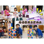 木頭玩具的首選-極推!Mentari木質玩具專家-男孩女孩都為之瘋狂「Quadrilla彈珠軌道益智組」+「我的專業化妝台」