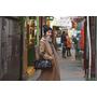 【旅遊穿搭】冬季旅行長大衣穿搭❤上海(御園.田子坊)