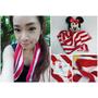 《穿搭》100%台灣製造的MIT好東西♥OK-PO-LO 台灣國旗風條紋運動毛巾(文末送購物金)