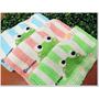 【MIT好東西】舒特/千元棉織-青蛙滿版印花童巾3入,超級卡哇伊~