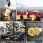 【旅遊】泰國曼谷自由行『Red Sky Bar、臥佛寺、河濱夜市』昭披耶河畔晃晃。(送禮)