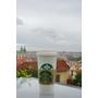 【歐洲,捷克】布拉格城堡區絕對不能錯過視野超好的星巴克。(Starbucks Prague Castle)