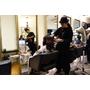 中山區染髮推薦FIN Hair Salon Olaplex染髮,用亮眼的紫紅髮色和好髮質來迎接春天