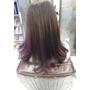 【Hair*】韓劇最流行的茶色光暈+紫色漸層。韓系染髮大勢色。低調兩色漸層