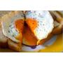 [食譜]假日早晨的幸福時光 - 培根起司蛋元氣吐司(超簡易早餐料理)