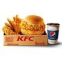 肯德基「$99群星餐升級版」雙層漢堡雙醬美味 驚喜升級與你最『盒』!