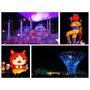 [遊]黑夜與白天同樣精彩 - 青埔高鐵桃園站,2016台灣燈會在桃園(猴年主燈/宇宙塔/妖怪手錶)