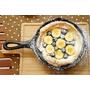 [食譜]簡單又迷人的Dutch Baby - 香蕉可可鐵鍋鬆餅(熱鍋鬆餅/荷蘭寶貝)