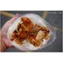 『台中。沙鹿區』在地代表性早餐阿水飯糰,傳統古早味飯糰,食尚玩家推薦VS.手橄蛋餅鬆酥好滋味