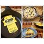 [敗]可用百年的美國Lodge鑄鐵鍋入手 - 我最愛鑄鐵平底鍋!LODGE食譜書(附錄贈品)開鍋養鍋心得