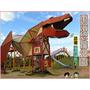 ❤[玩-沖繩]東浜きょうりゅう公園(東濱恐龍公園)。沖繩親子公園溜滑梯。恐龍溜滑梯