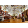 【歐洲,捷克】布拉格圓夢之旅,終於造訪世界上最美的圖書館之一,斯特拉霍夫修道院(Strahovský klášter)。