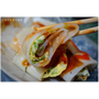『台中。豐原區』自助早點║傳統早餐,行家美食小吃/東南亞融合台灣味的蛋餅,口味眾多Q彈滑嫩好滋味
