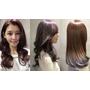 星空染 台北東區時尚貴婦也瘋狂的 紫灰髮色