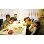 【新北永和美食】一家六口的第一次義大利菜-SPEZiA斯佩齊亞創意小廚/法式酒釀布丁/熱甜點/冷開胃菜/多樣化比薩/多重口味義大利麵/精緻燉飯/手工製作/生日驚喜